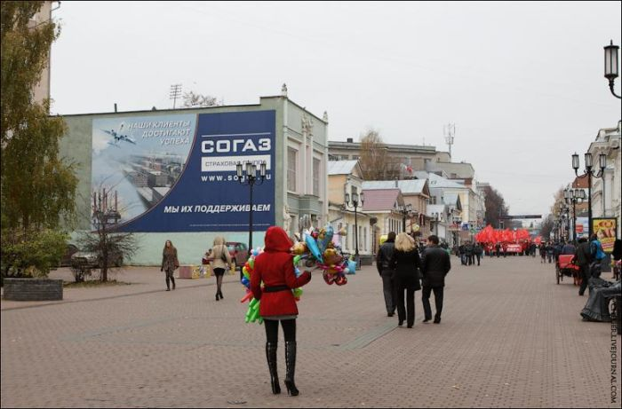 Нижний Новгород тогда и сейчас. Часть 2 (81 фото)