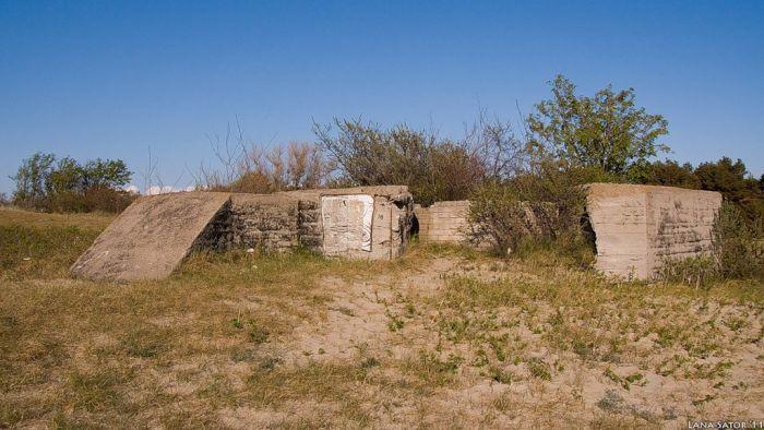 Немецкие укрепления на Балтийской косе (52 фото)