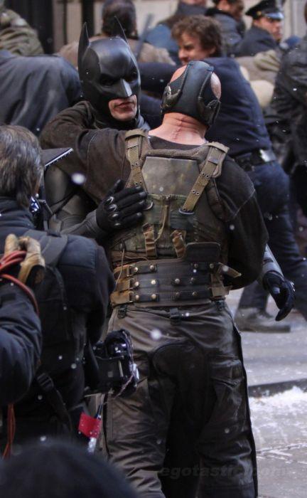 Съемки нового фильма про Бэтмена (27 фото)