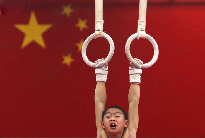 Китайская школа гимнастики. Часть 2 (18 фото)