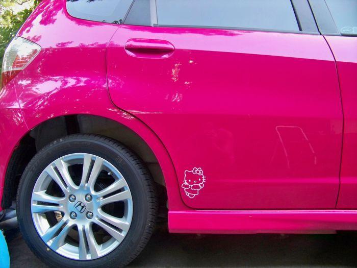 Автомобиль мечты любой блондинки (21 фото)