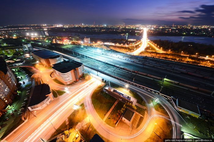 Виды Новосибирска свысока (54 фото)