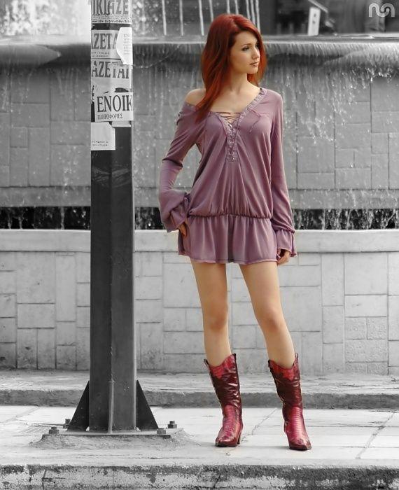 Рыжеволосые девушки (104 фото)