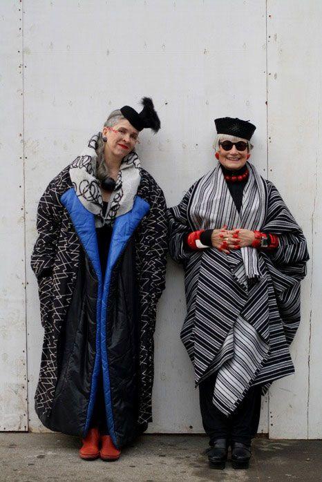Стильные пожилые люди (46 фото)