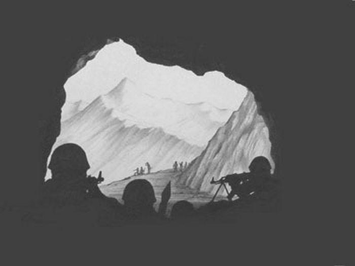 Нарисованная война (30 рисунков)