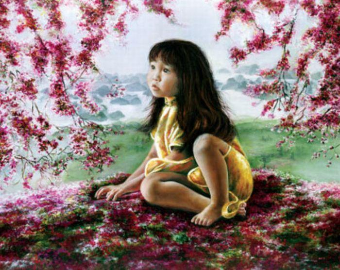 Küçük Ressam Aiken ve Şaşırtıcı Resimleri