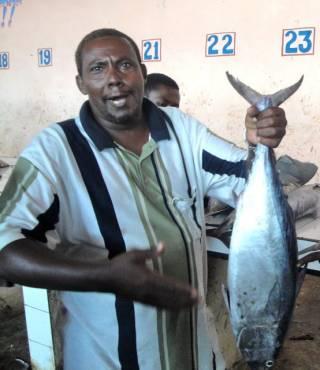 Улов сомалийских рыбаков (30 фото)