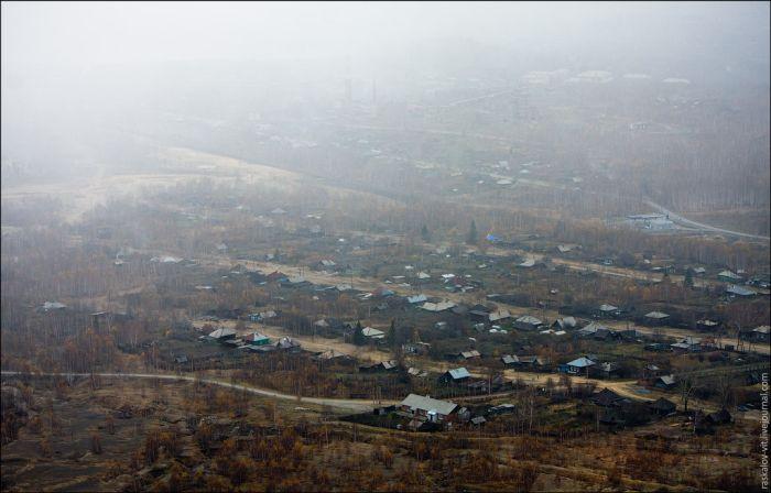 Грязный город - Карабаш (24 фото)