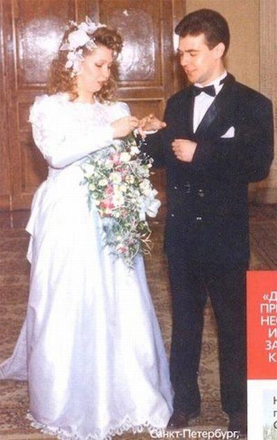 Свадебные фото политиков (7 фото)
