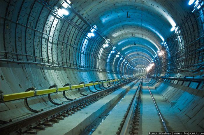 Люблинский метрострой (28 фото)