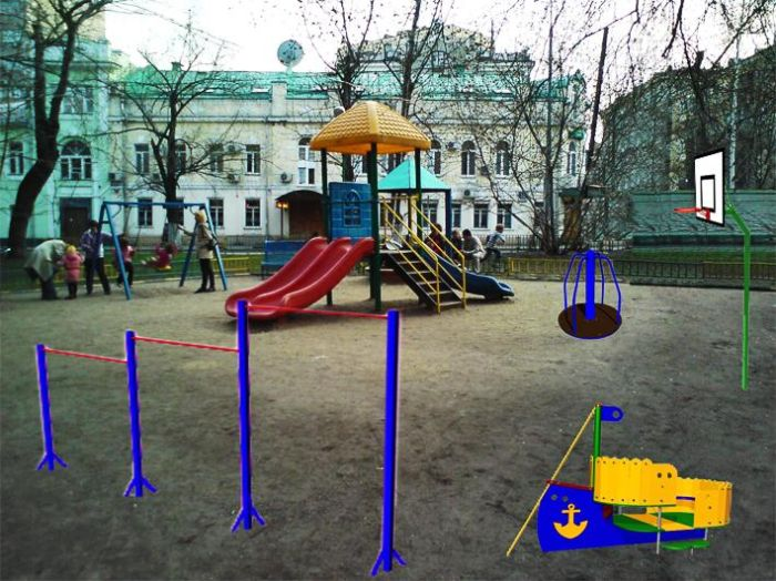 Благоустройство Замоскворечья (54 фото)