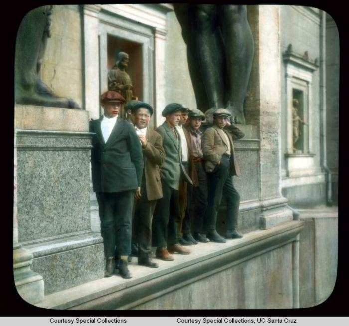 Раскрашенные фотографии Ленинграда до войны (70 фото)