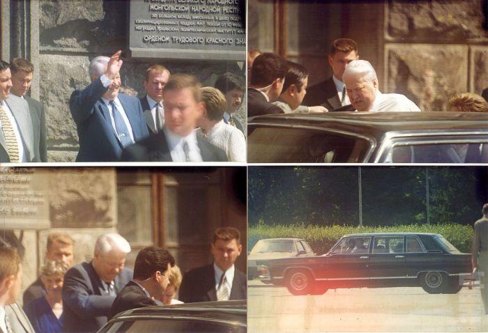 Первые лица под охраной (52 фото)