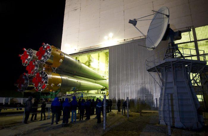 Запуск корабля «Союз ТМА-22» (17 фото)