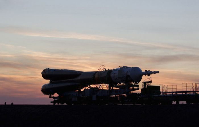 """Запуск корабля """"Союз ТМА-22"""" (17 фото)"""