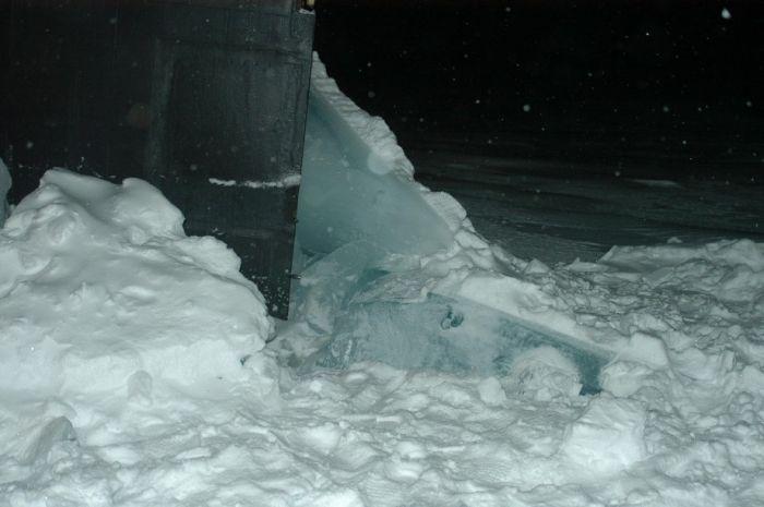 всплыв подводной лодки на северном полюсе