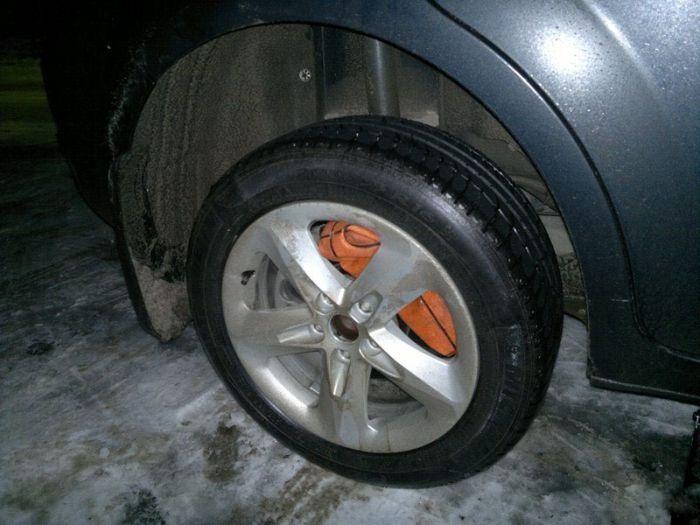 Водительская хитрость (12 фото)