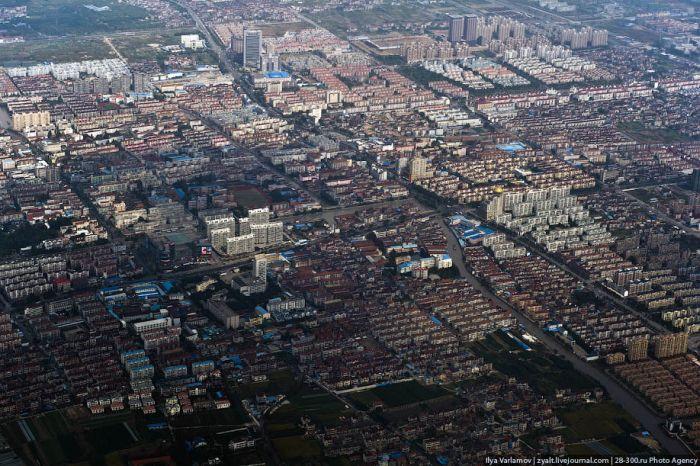 Китай с высоты птичьего полета (35 фото)