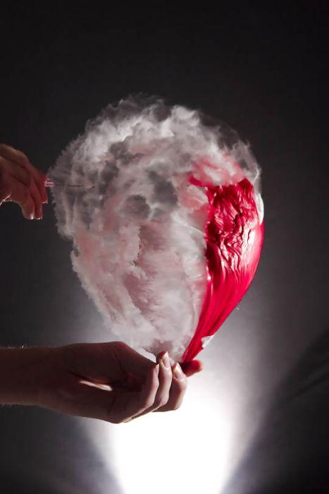 Лопнувшие воздушные шары (38 фото)