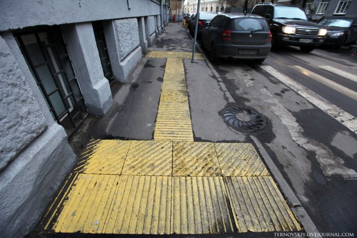 Дорожка для слабовидящих людей (16 фото)