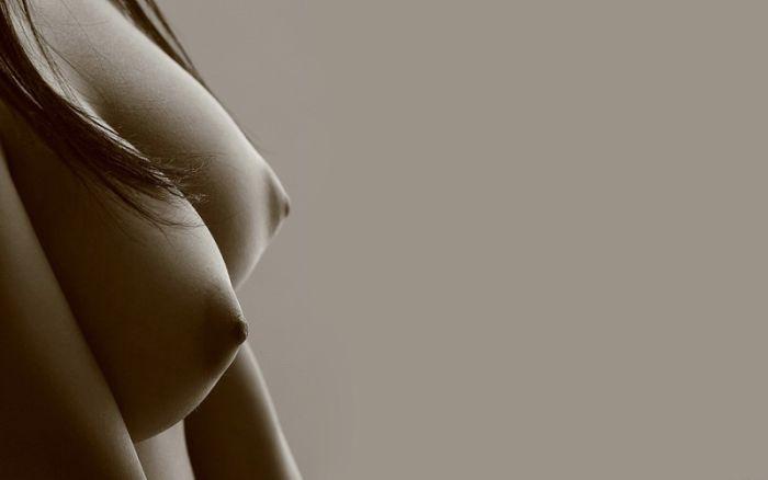 Женская грудь (75 фото)