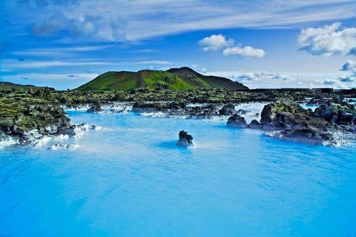 Голубая лагуна - курорт в Индонезии (28 фото)