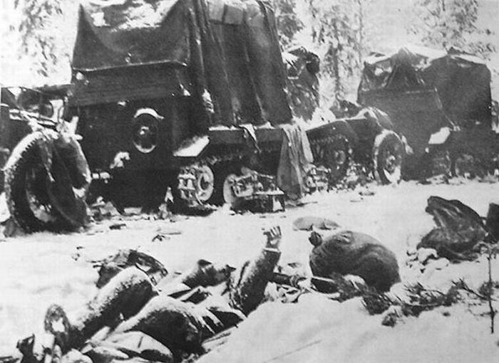 Вторая Мировая Война зимой (55 фото)