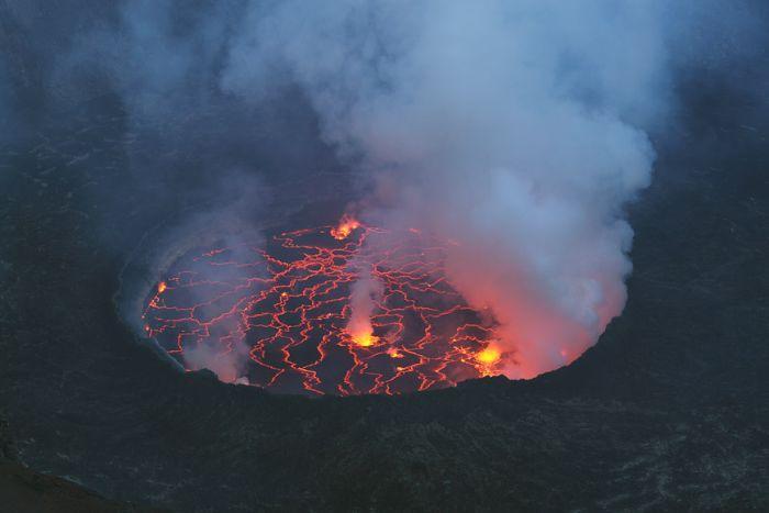 Действующие вулканы (80 фото)