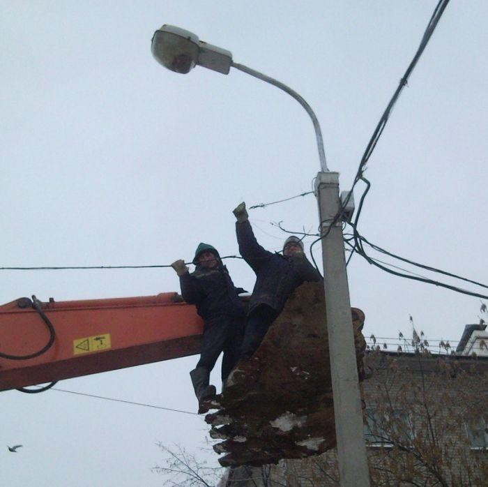 Как работают энергетики в Уфе (5 фото)