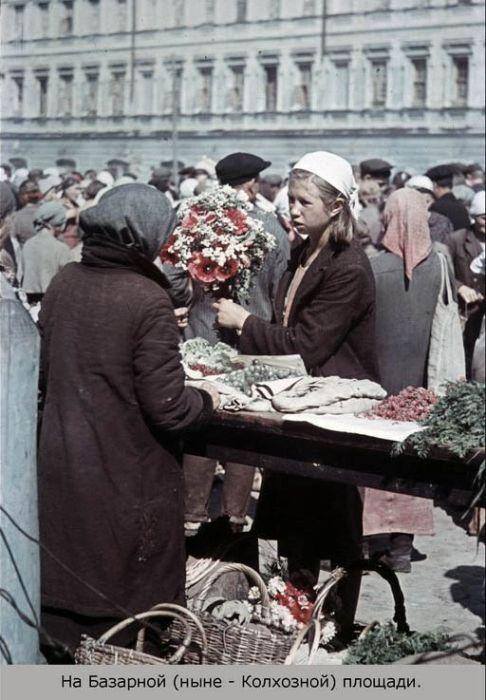 Оккупированный Смоленск в цвете (23 фото)