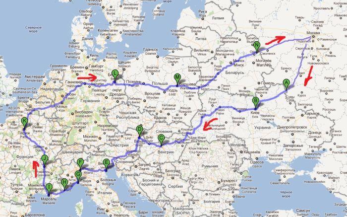 На Оке по Европе (13 фото + 2 видео)