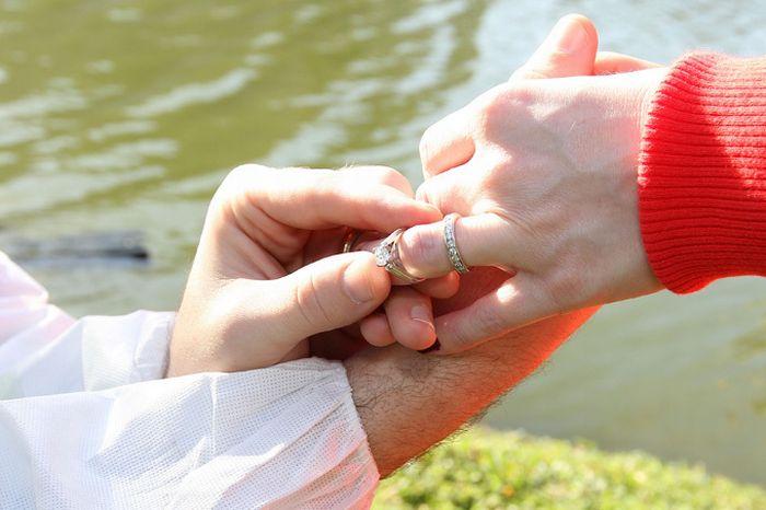 Потерянное кольцо (6 фото)