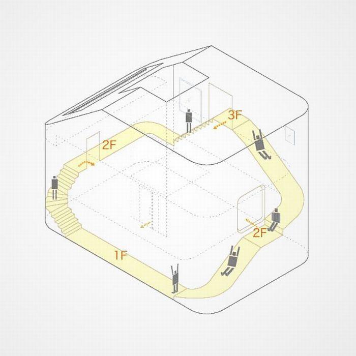 Дом с горками (9 фото)