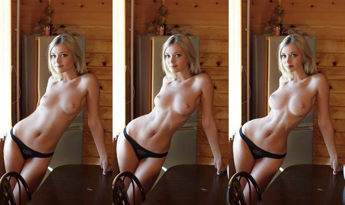 Девушки с дорисованной грудью (25 фото + 15 гифок)