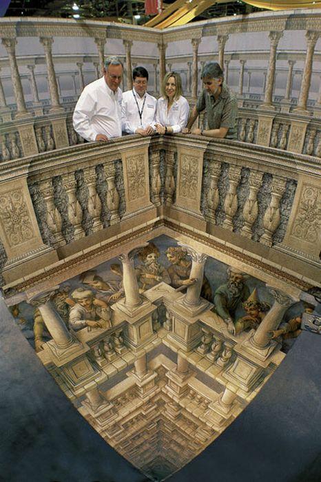 Удивительные 3D-рисунки (25 фото)