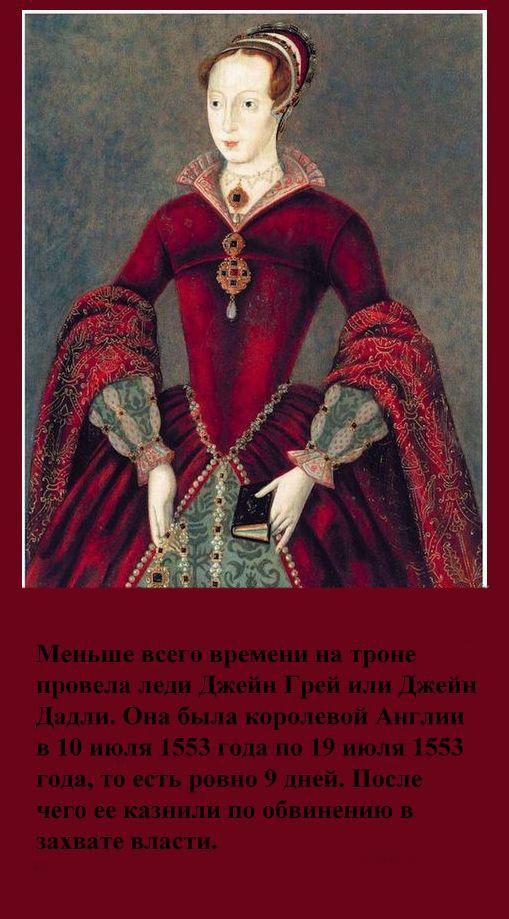 Факты о королевах (9 картинок)