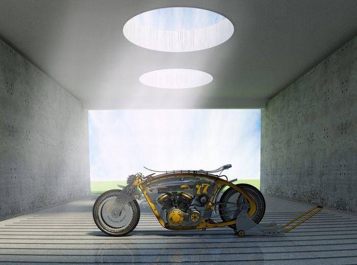 Мотоциклы и автомобили будущего (77 фото)