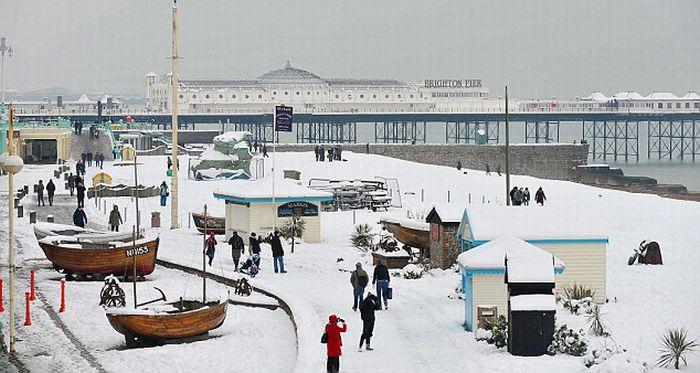 Теплая зима в Великобритании (30 фото)