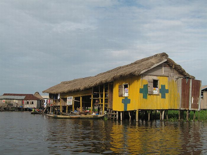 Ganvié— африканская деревня наводе (35 фото)