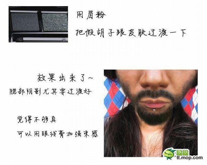 Перевоплощение с помощью макияжа (20 фото)