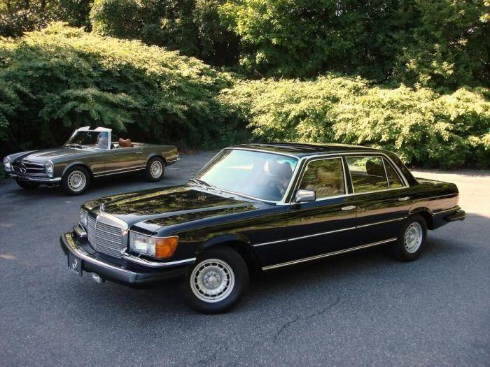Классические модели автомобилей марки Mercedes (150 фото)