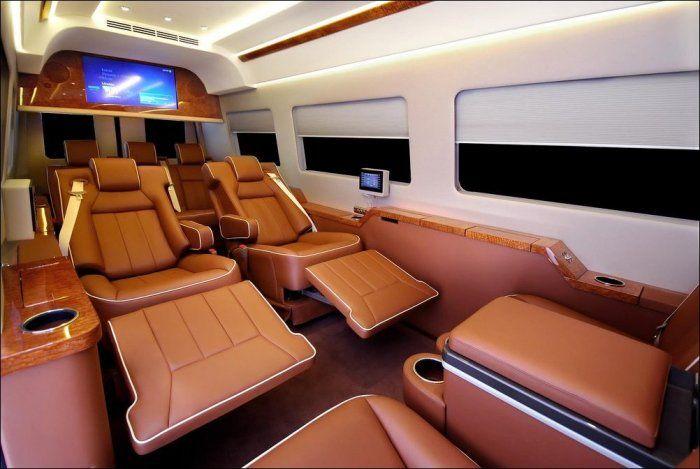 Салон в автомобиле Mercedes Benz Van (24 фото)