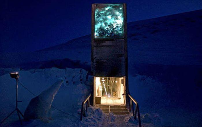 Глобальное зернохранилище в Норвегии (23 фото)