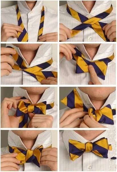 Завязываем галстук (8 фото)