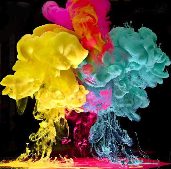 Вода и краски