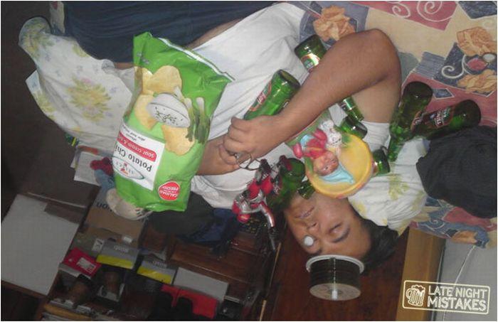 Приколы над пьяными друзьями (93 фото)