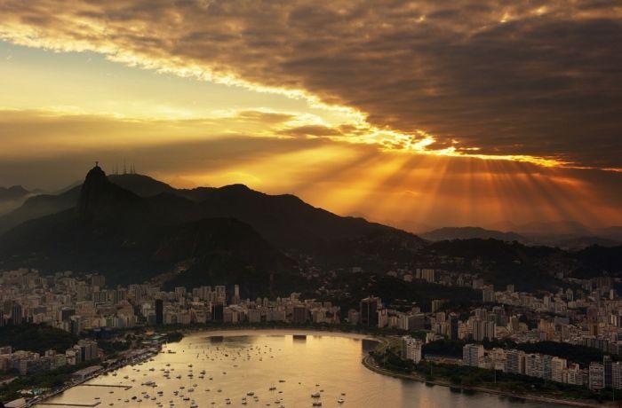 Города и природа в фотографиях (110 фото)