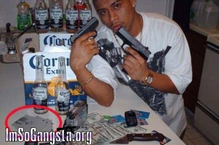 Настоящие гангстерские фотки (48 фото)