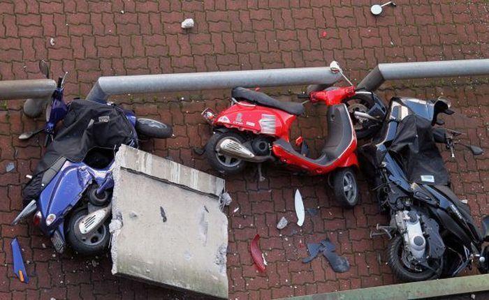 Неудачная парковка (6 фото)