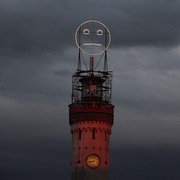 Огромный смайл в Германии (3 фото + видео)